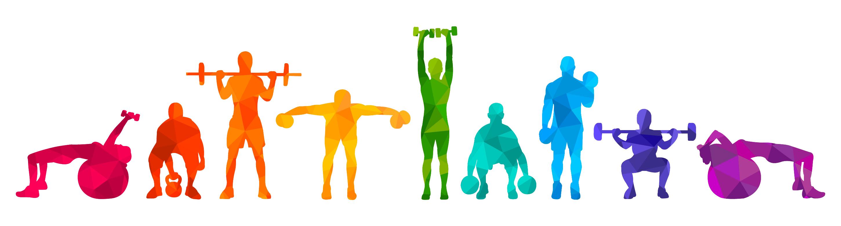 logo gimnasio de Graus colores
